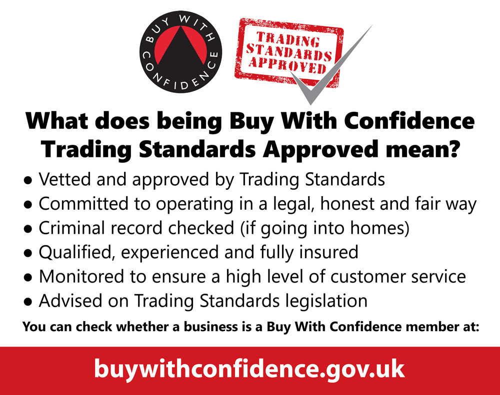 Trusted Trader, Trading Standards Approved