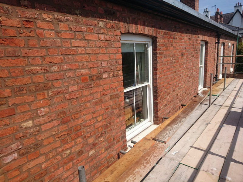 pointing and brick repairs replacement