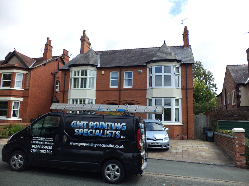 GMT Pointing specialists air brick and lime pointing project